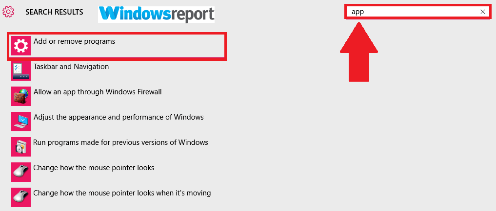 add or remove programs WpcMon.exe