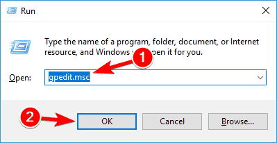 Antimalware Service Executable cannot complete the task