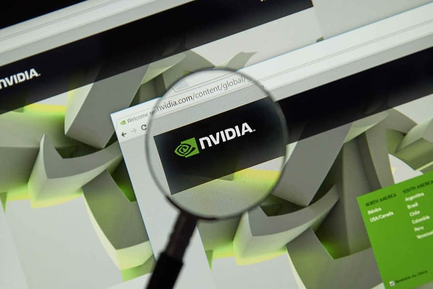 What should I do if the NVIDIA driver is not compatible with this version of Windows