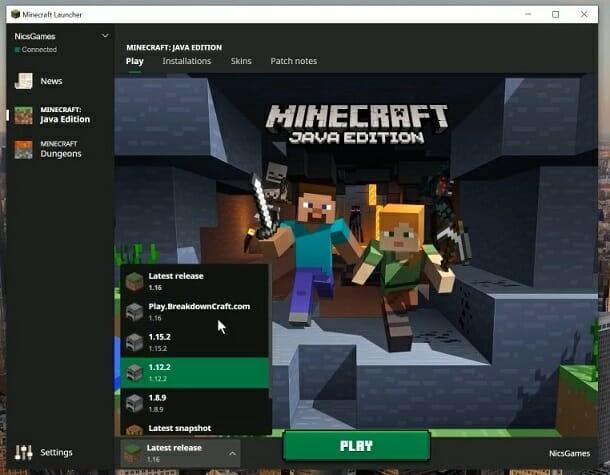 Minecraft Launcher minecraft smi does not install Windows 10