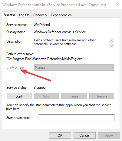 Windows Defender does not remove Trojan