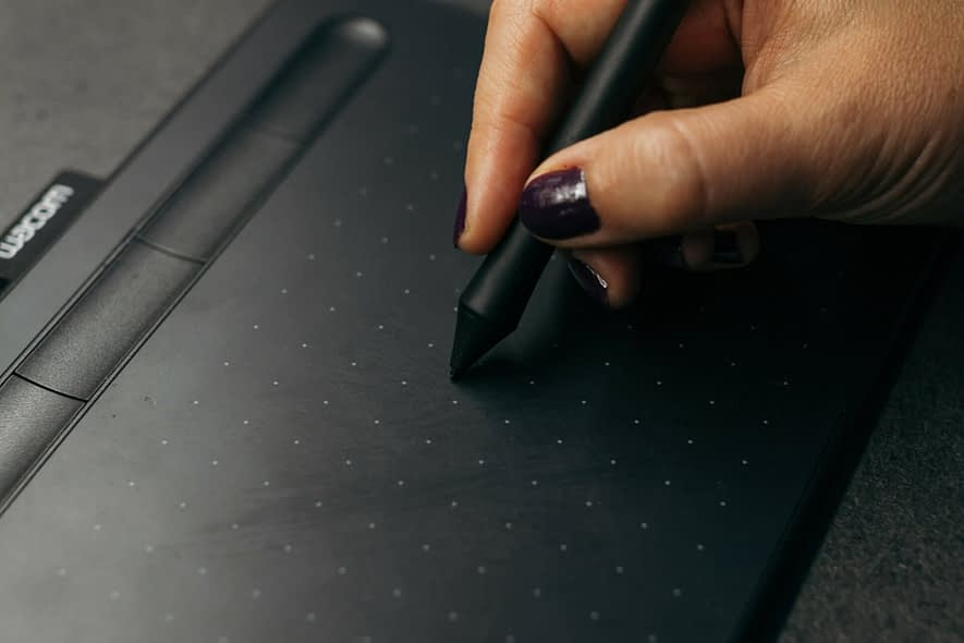 The Wacom driver is not installed on Windows 10