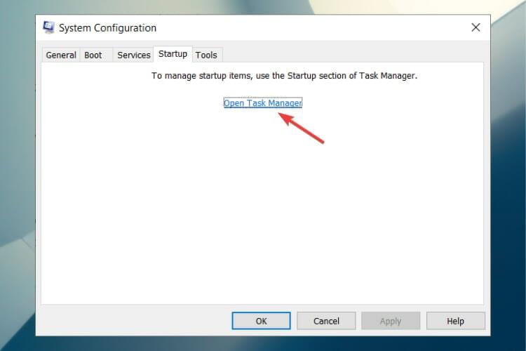 Open task management