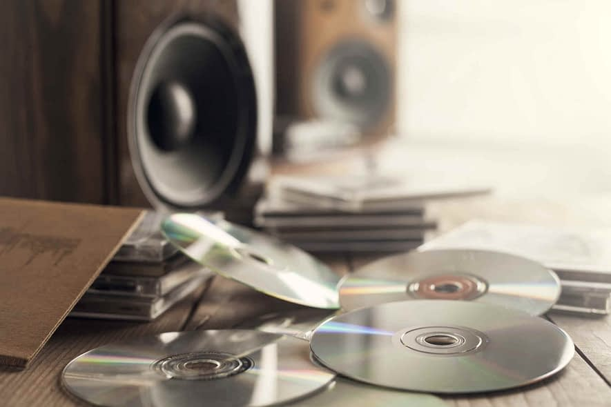 What should I do if Windows Media Player does not recognize a blank CD