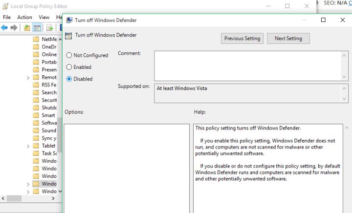 Windows Defender is blocking Steam