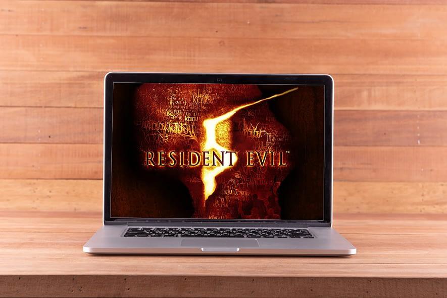 Resident Evil 5 Steam version launch error
