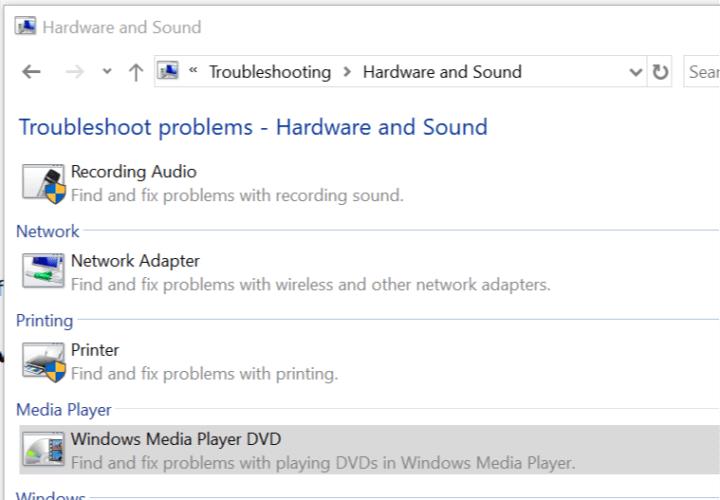 troubleshooting window Windows Media Player blank CD problems