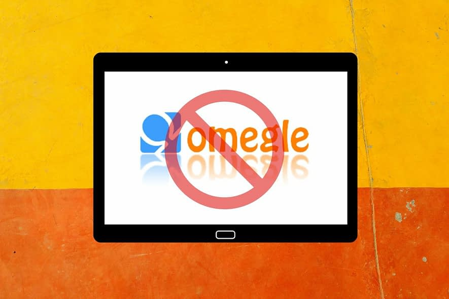 Resolve Omegle error when connecting to server