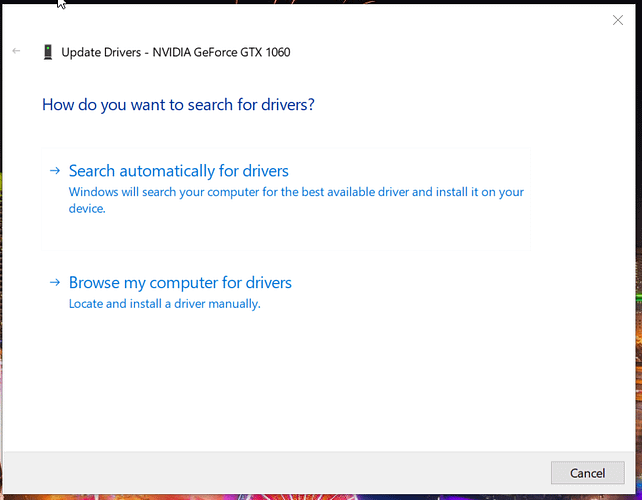 Update the driver window How to install benq drivers