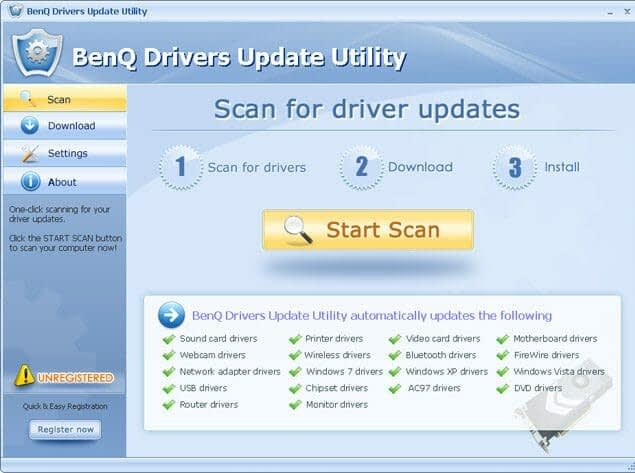 BenQ Drivers Update Utility How to install benq drivers