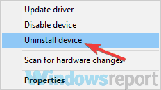 uninstall the device Windows Media Player blank CD can not read